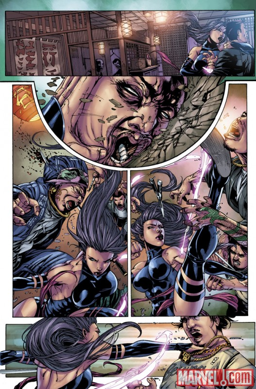 Psylocke (2009) #2