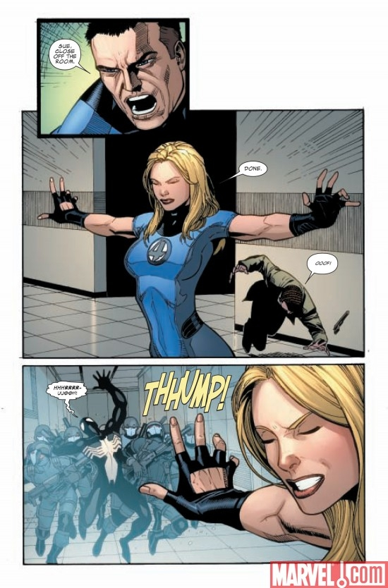 DARK REIGN: FANTASTIC FOUR #5, page 5