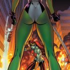 ALL-NEW SAVAGE SHE-HULK #2 cover by J. Scott Campbell