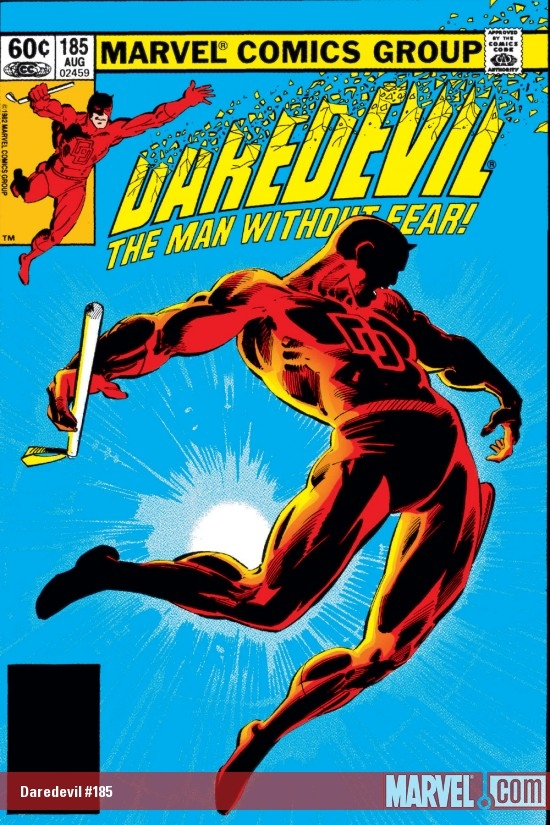 DAREDEVIL #185 COVER
