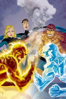 Marvel Adventures Fantastic Four Vol. 6: Monsters & Mysteries (Digest)