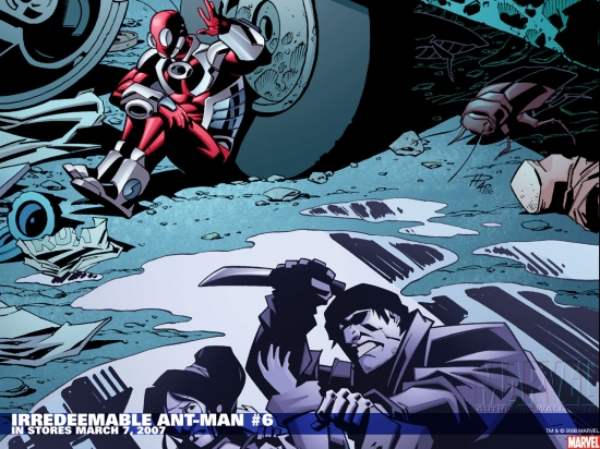 Irredeemable Ant-Man (2006) #6 Wallpaper