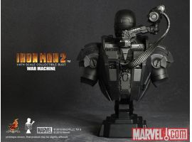 Iron Man 2: War Machine Collectible Bust from Sideshow Collectibles