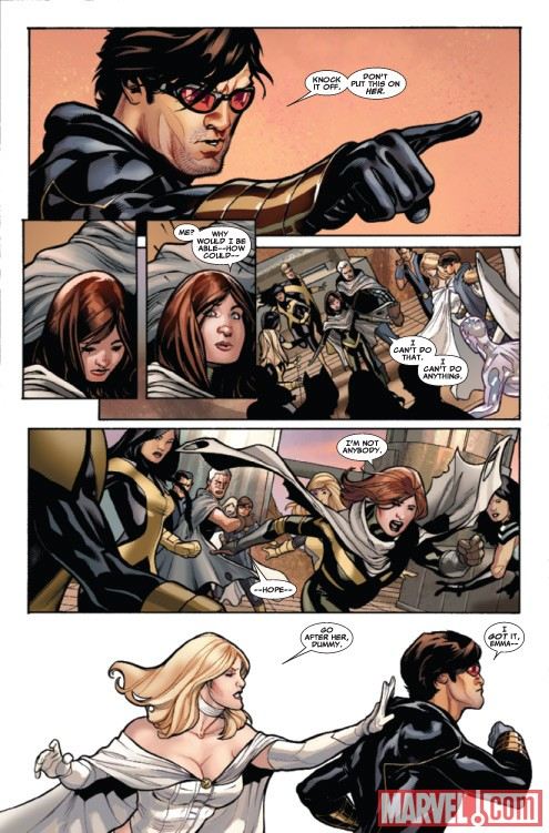 UNCANNY X-MEN #524 preview art by Terry Dodson