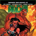FALL OF THE HULKS: SAVAGE SHE-HULKS #3 cover by J. Scott Campbell
