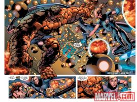 FANTASTIC FOUR ANNUAL #32 preview art by Bryan Hitch