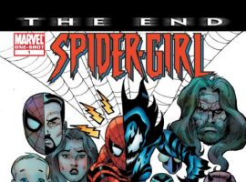 Spider-Girl: The End #1 cover by Ron Frenz