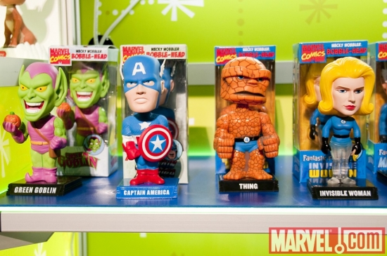Marvel Toys at Funko Booth Toy Fair 2010
