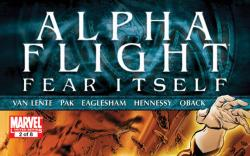 Your First Look At ALPHA FLIGHT #2 
