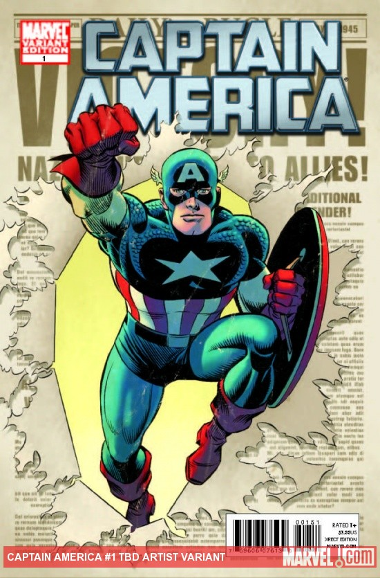Captain America (2011) #1 John Romita Sr. Variant
