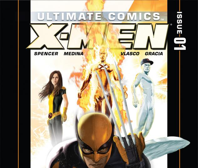 Ultimate Comics X-Men (2011) #1 Cover