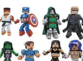 Diamond Select Marvel VS Capcom Minimates