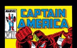 Captain America (1968) #341 Cover