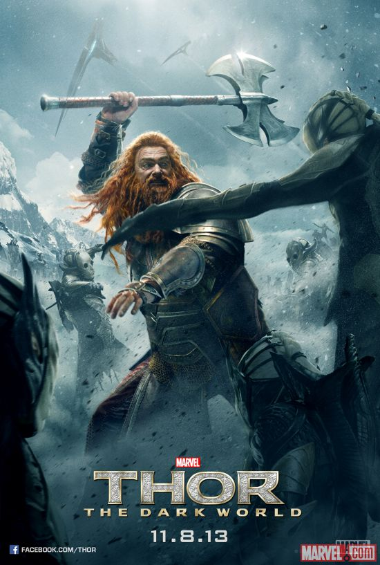 Volstagg character poster from Marvel's Thor: The Dark World