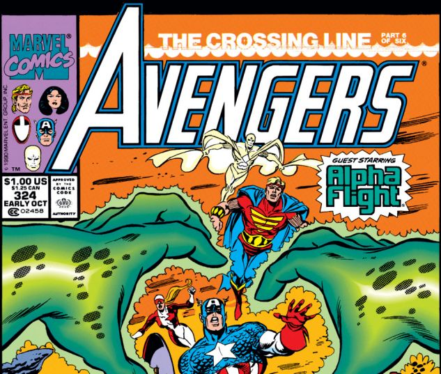 Avengers (1963) #324 Cover