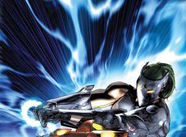 Iron Man vs. Whiplash #2 cover by Brandon Peterson