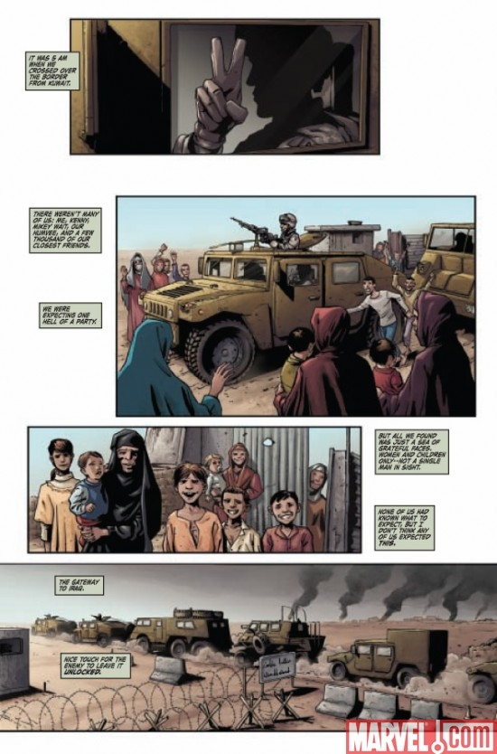 CAPTAIN AMERICA THEATER OF WAR: TO SOLDIER ON #1, page 1