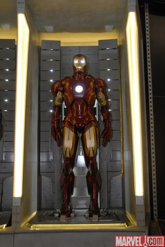 Iron Man Mark IV Armor Close Up