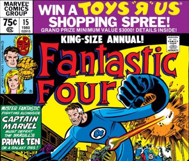 FANTASTIC FOUR ANNUAL #15 COVER