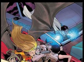 THE ORDER #8 cover by Barry Kitson