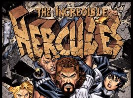 INCREDIBLE HERCULES #114 ADAMS COVER