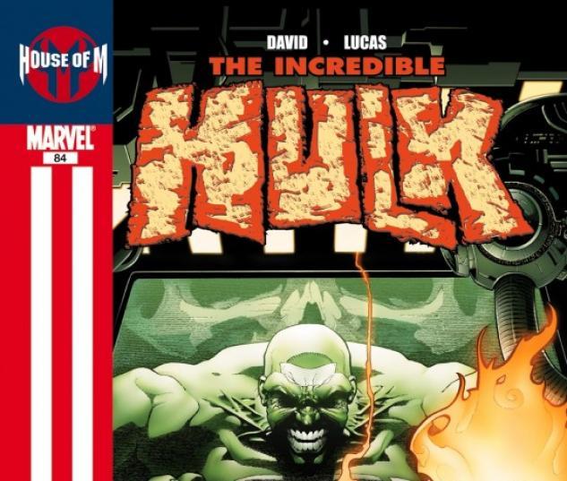INCREDIBLE HULK (2007) #84 COVER