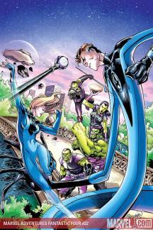 Marvel Adventures Fantastic Four (2005) #22