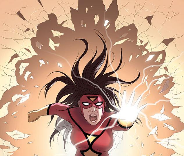SPIDER-WOMAN: ORIGIN (2008) #5 COVER