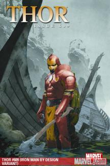 Thor (2007) #609 (IRON MAN BY DESIGN VARIANT)