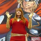 Phoenix cosplayer at Marvel's Fan Expo Canada Costume Contest