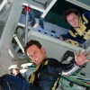 Michael Fassbender and James McAvoy star as Erik Lehnsherr and Charles Xavier in X-Men: First Class