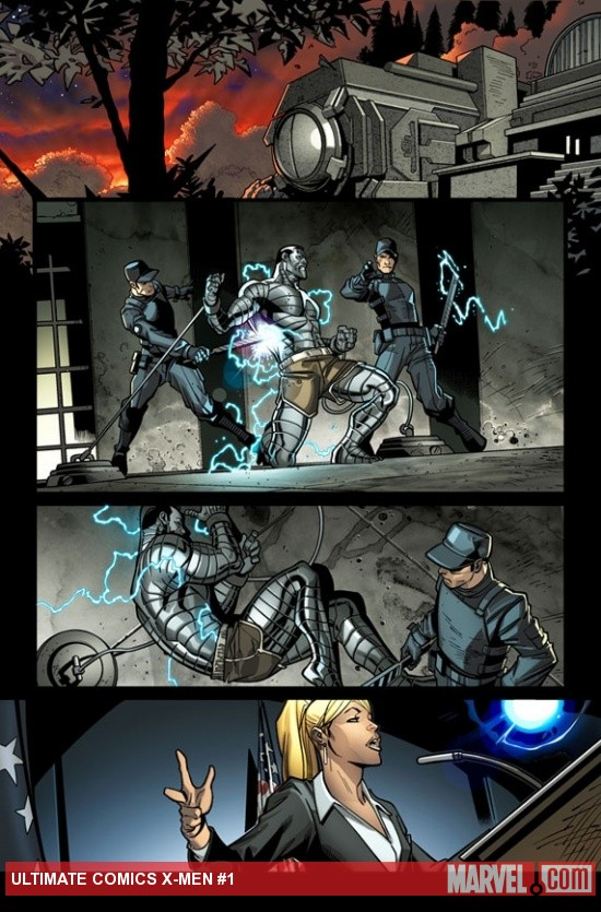 Ultimate Comics X-Men #1 preview art by Paco Medina