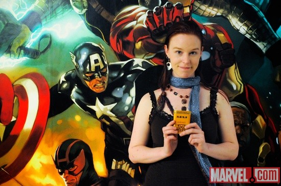 Marian Call Visits Marvel