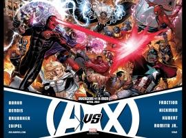Avengers VS X-Men promo by Jim Cheung