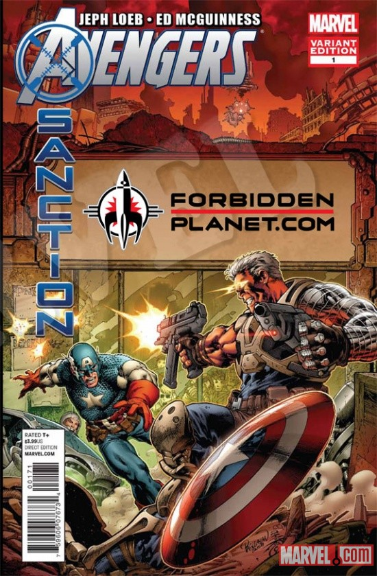 Avengers: X-Sanction #1 Forbidden Planet Variant