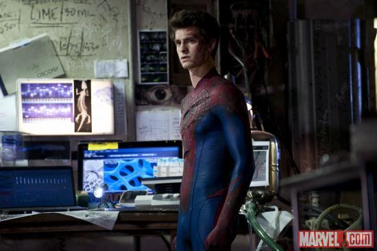 Два новых кадра из фильма The Amazing Spider-Man