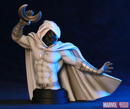 Gentle Giant Moon Knight Deadpool Corps Busts
