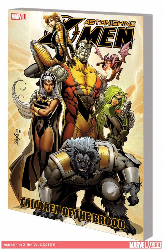 ASTONISHING X-MEN VOL. 8: CHILDREN OF THE BROOD TPB