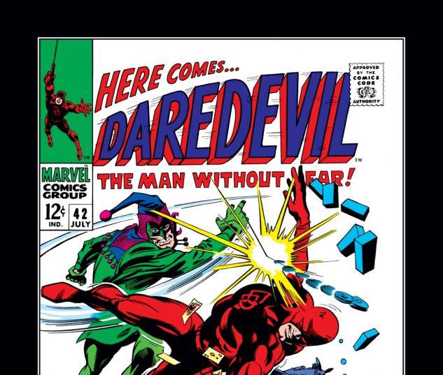 Daredevil (1963) #42 Cover