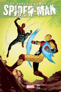The Superior Foes of Spider-Man #4  (Shalvey Variant)