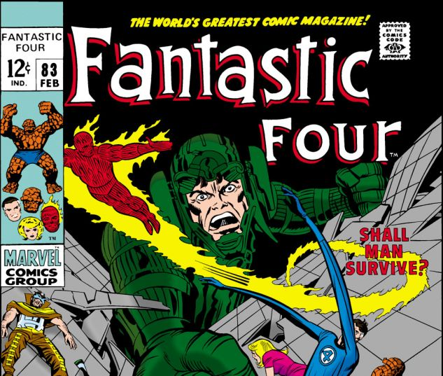 Fantastic Four (1961) #83 Cover