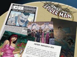 AMAZING SPIDER-MAN #602, intro page