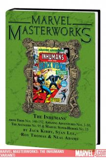 Marvel Masterworks: The Inhumans Vol.1 (Hardcover)