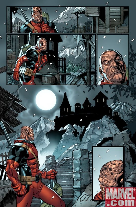 DEADPOOL #4 preview art by Paco Medina