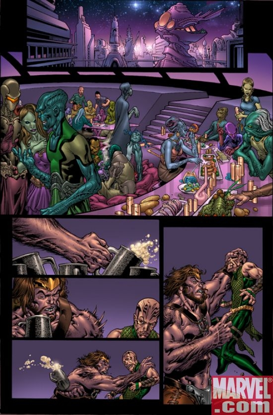 SECRET INVASION: INHUMANS #1 interior art