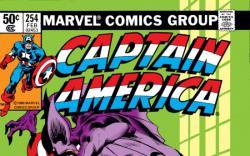 CAPTAIN AMERICA #254 COVER