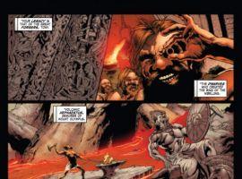 IRON MAN LEGACY #1 preview art by Steve Kurth
