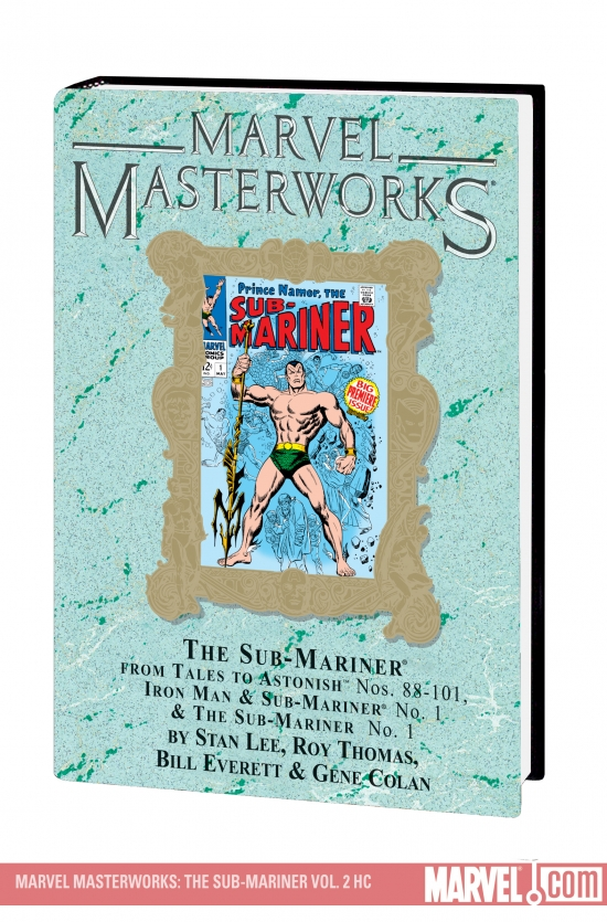 MARVEL MASTERWORKS: THE SUB-MARINER VOL. 2 HC #0