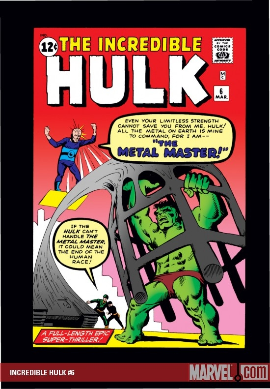 INCREDIBLE HULK #6