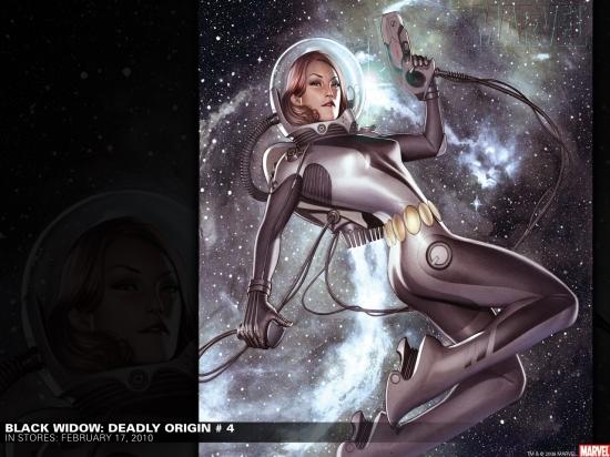 Black Widow: Deadly Origin (2009) #4 Wallpaper